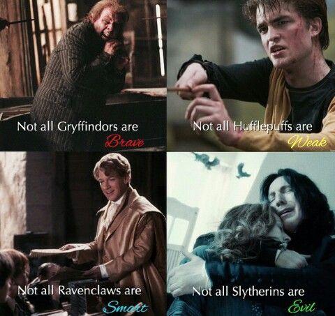 Imagen de Harry Potter, Hogwarts, Slytherin, Ravenclaw, Hufflepuff and Gryffindor