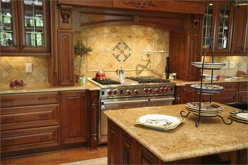 Custom Kitchen Stock Kitchens Kitchen Design Solutions Granite For Oak