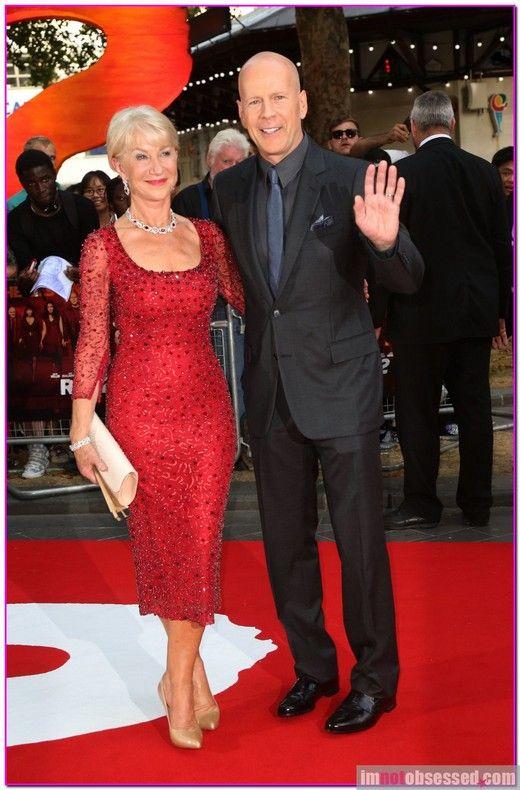 Helen Mirren and Bruce Willis Red 2 UK film premiere