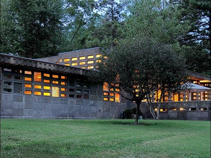 Frank Lloyd Wright home for sale in Cincinnati. I want it.
