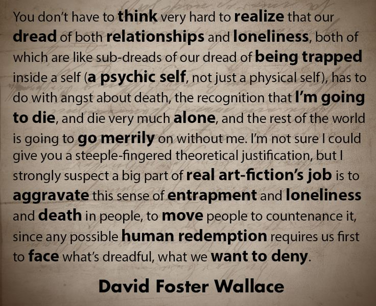 david foster wallace water summary David foster wallace // kenyon commencement speech // quote poster //  minimalist // black and white // last line from this is water speech.