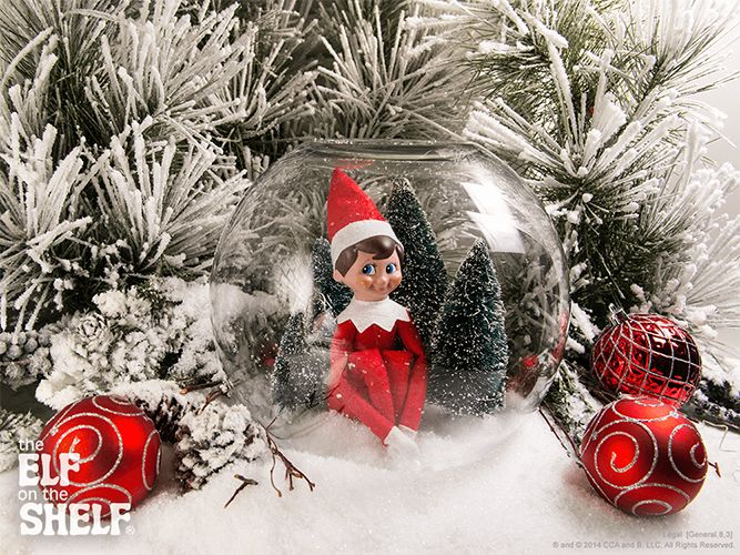 Elf on the Shelf Ideas | I Am A Snow Globe | The Elf on the Shelf®