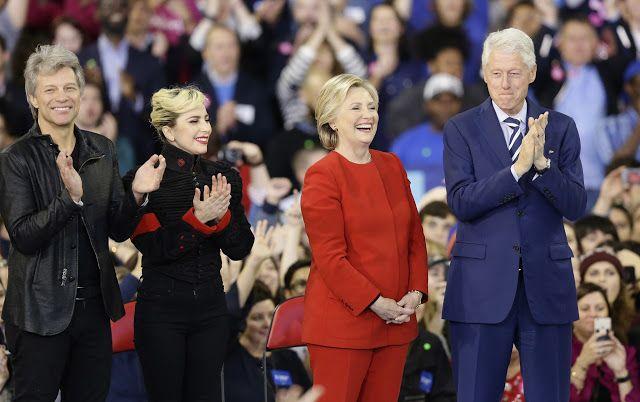 FOTOS HQ Lady Gaga en el cierre campaña de Hillary Clinton
