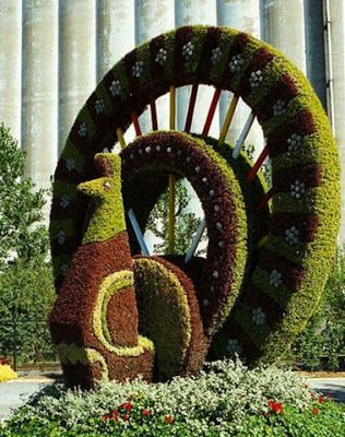 Mosaiculture International Of Montreal.