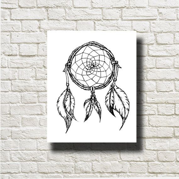 Indian Feathers Ornament Decoration Printable by DNgraphics