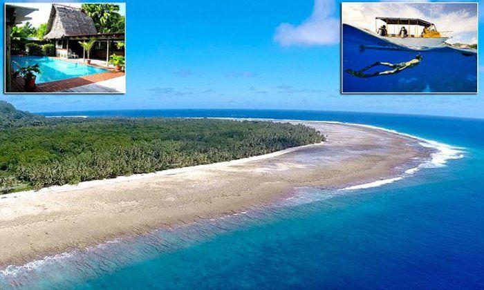 Τσιτέικο: Παραμυθένιο ιδιωτικό νησί χαρίζεται έναντι 49 δολα...