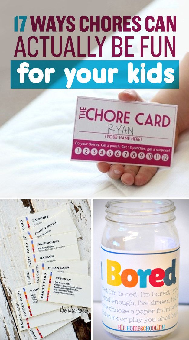 17 Impressively Clever Ways To Get Kids To Do Their Chores