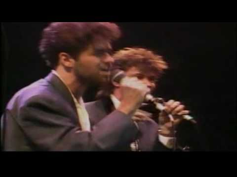 George Michael & Paul Young - Everytime You Go Away (Live  1986) - HD