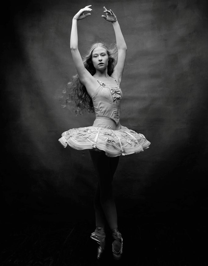 Janie Taylor of New York City Ballet (Photo: Diego Uchitel Photography)