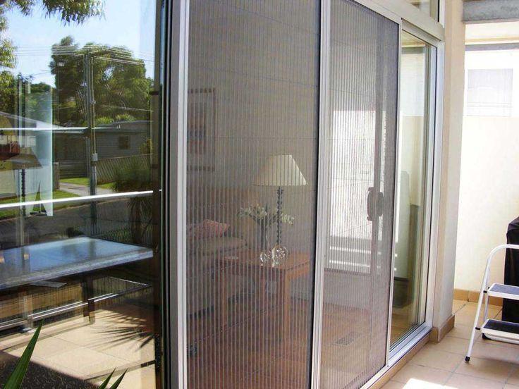 Adjusting rollers sliding patio screen door sliding