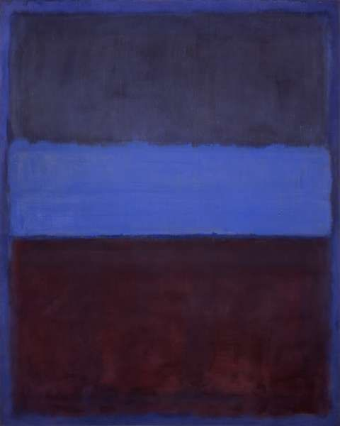Nº61 (Rust and blue), 1953, Mark Rothko