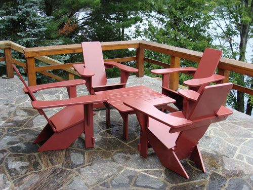 4 Westport Chairs U0026 Table In A Frank Lloyd Wright Setting. Outdoor  SeatingOutdoor ...
