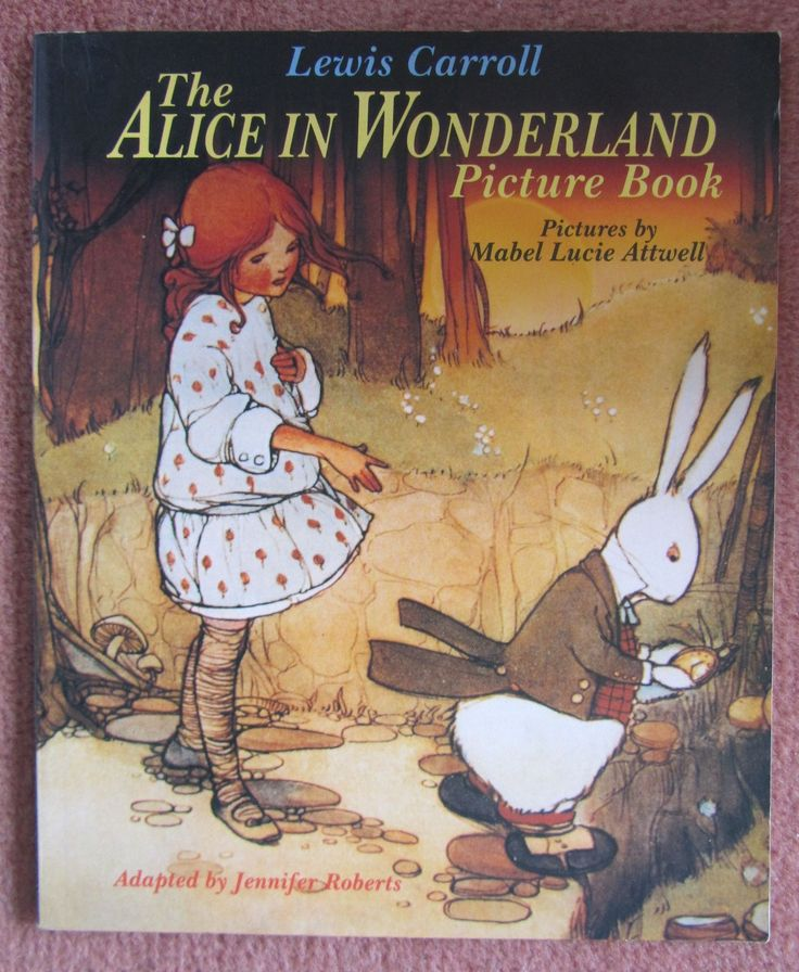 ''Alice in Wonderland', with illustrations by Mabel Lucie Attwell | eBay