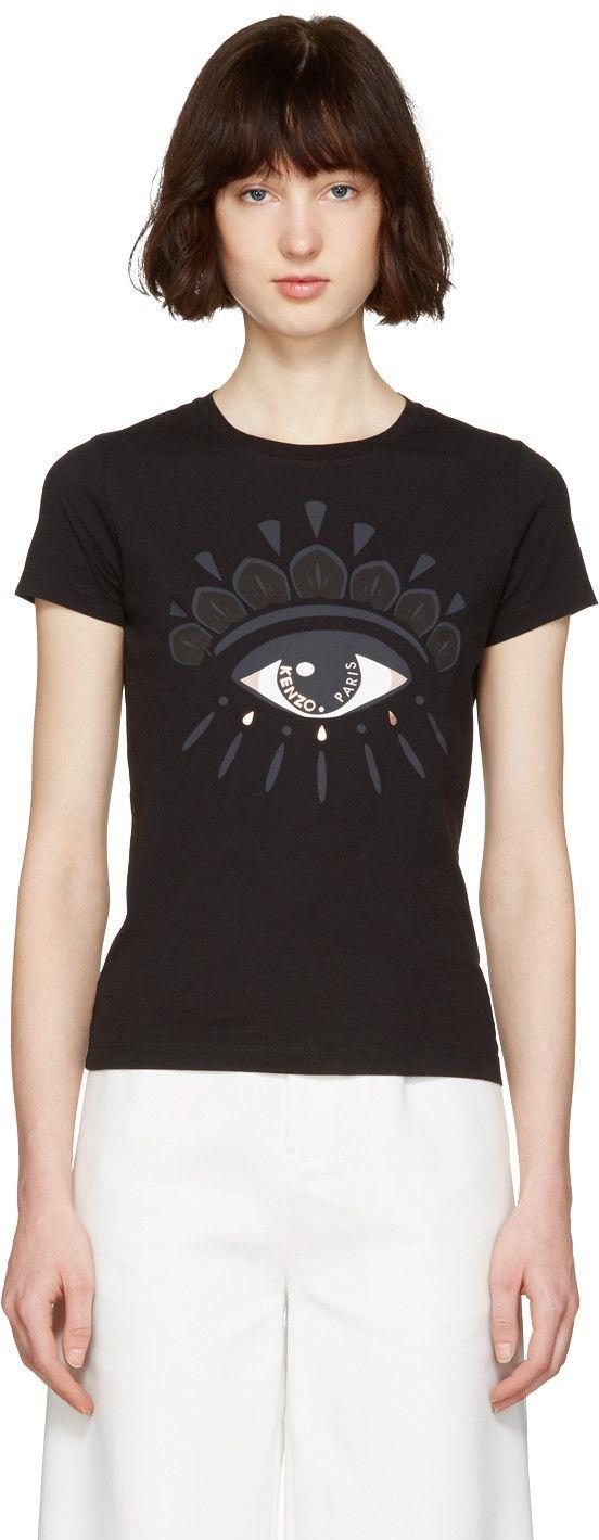 Kenzo - Black Eye T-Shirt