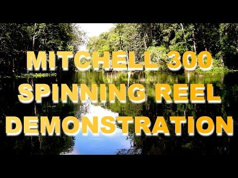 Mitchell 300 Reel Casting Demo by Johnny Dieckman 1956 - YouTube