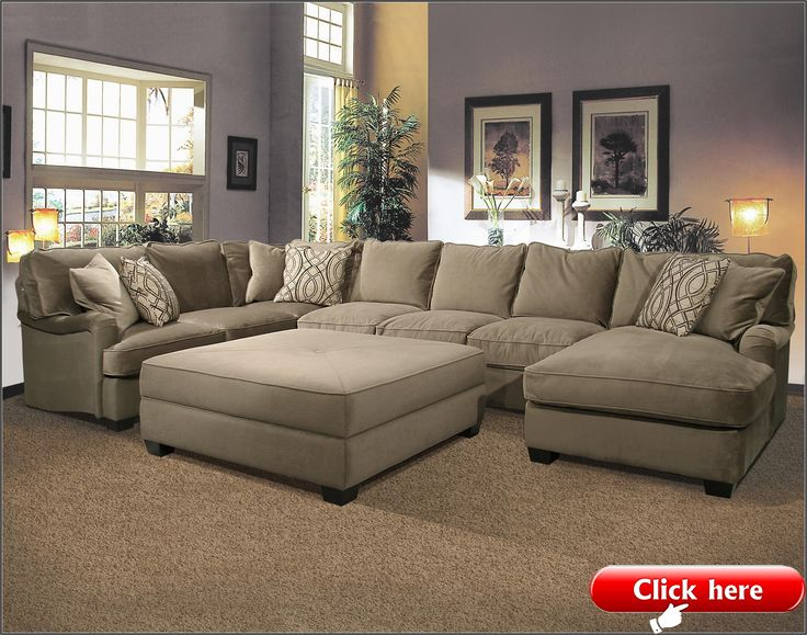Big U Shaped Sectionals 2019 Large Sectional Sofa Sectional