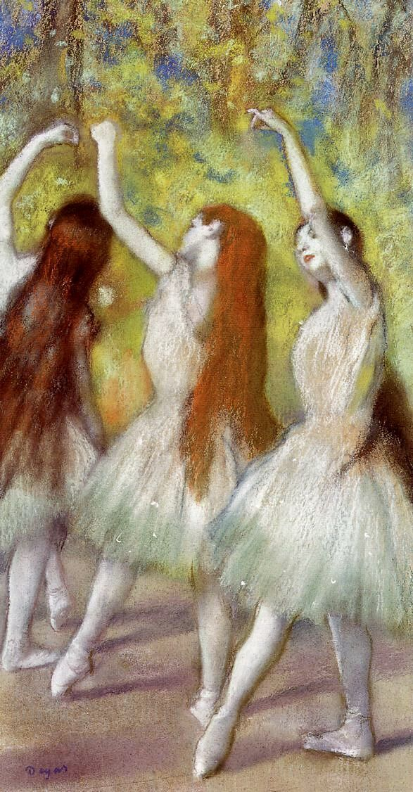 Edgar Degas Dancers In Green 1878 In 2020 Edgar Degas Art Degas Paintings Degas Dancers