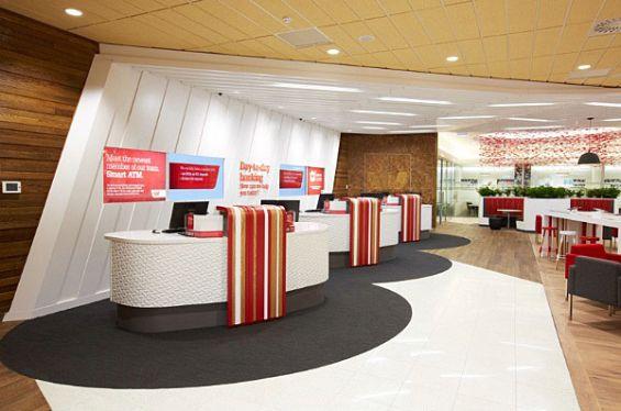 Bank Teller Window Design Westpac Bank Branch Tellers