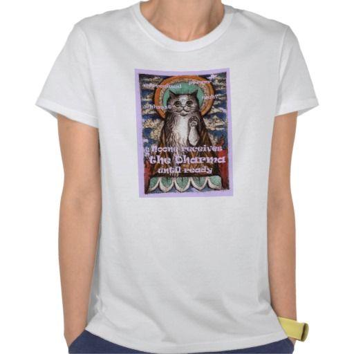 Dharma Cat Four Noble Truths T-Shirt