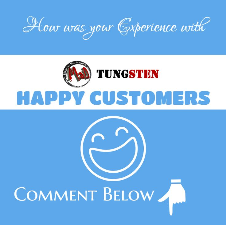 Hey guys! How is your shopping experience with mad tungsten? If you like it. Go Facebook or twitter and leave your comments.