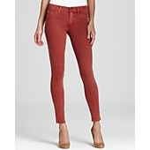 Hudson Jeans - Nico Mid Rise Super Skinny in Sepia
