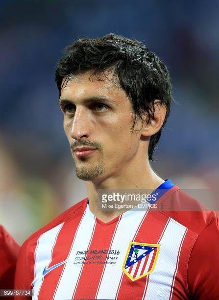 Atletico Madrid's Stefan Savic