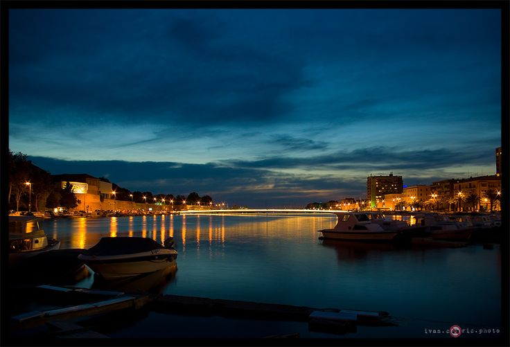 Zadar's bridge by ivancoric.deviantart.com on @DeviantArt