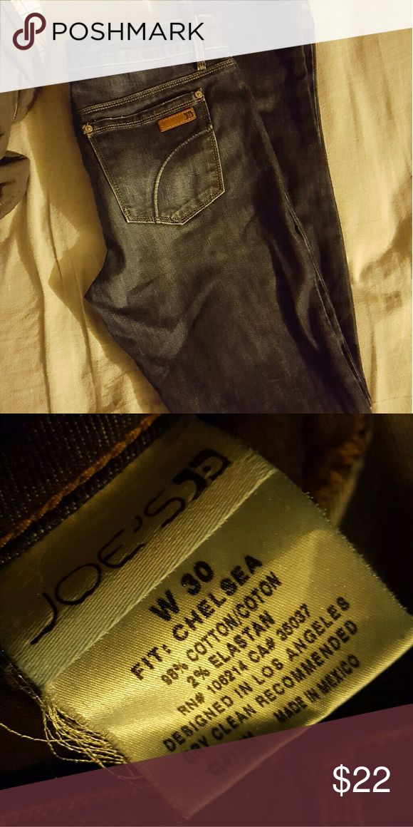 Joe's Jean's  Chelsea cut Worn twice, size 30 Joe's Jeans Jeans