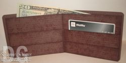 Paper wallet (good for gift cards & things) - Tutorial