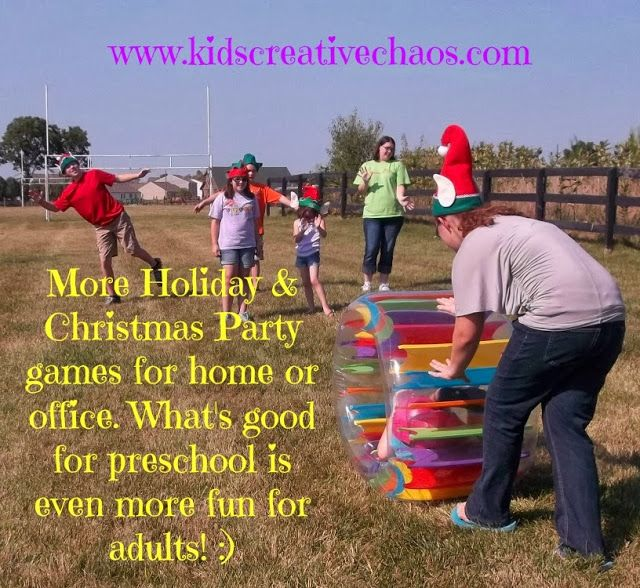 Christmas Party Themes For Adults: 35 Best Games For Children: Summer Camp & After School