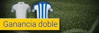 bwin bono ganancia doble Real Madrid vs Real Sociedad 31 enero