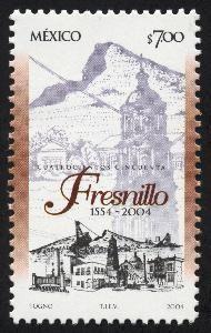 timbre postal fresnillo