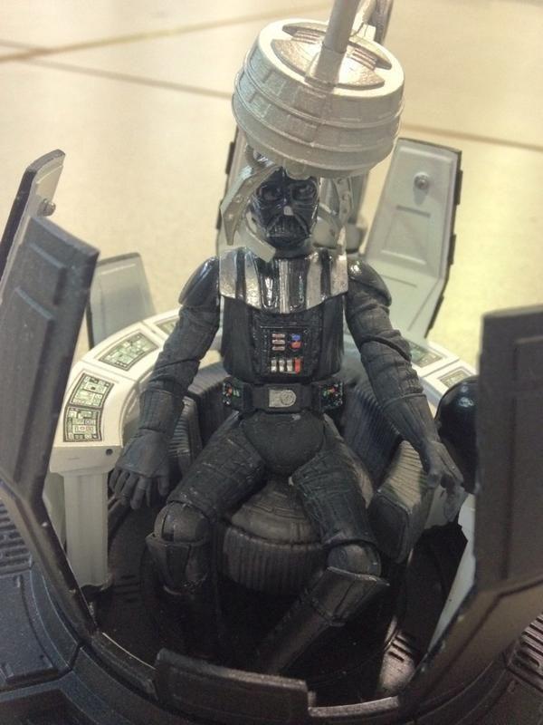 Hasbro Pre-Production Darth Vader Meditation Chamber ...