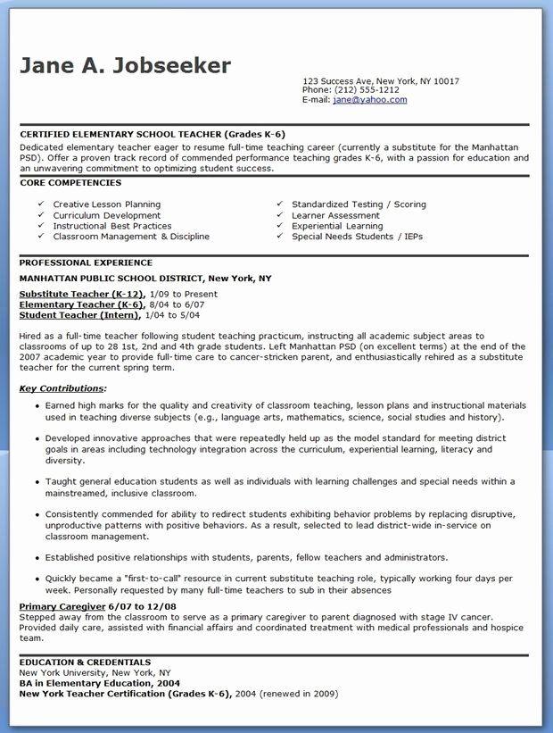 40 free sample resume for teachers in 2020