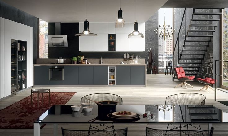 Scopri la nuova cucina moderna di Gicinque De.sign