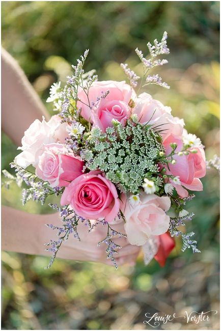 Pink Bouquet for brides maids
