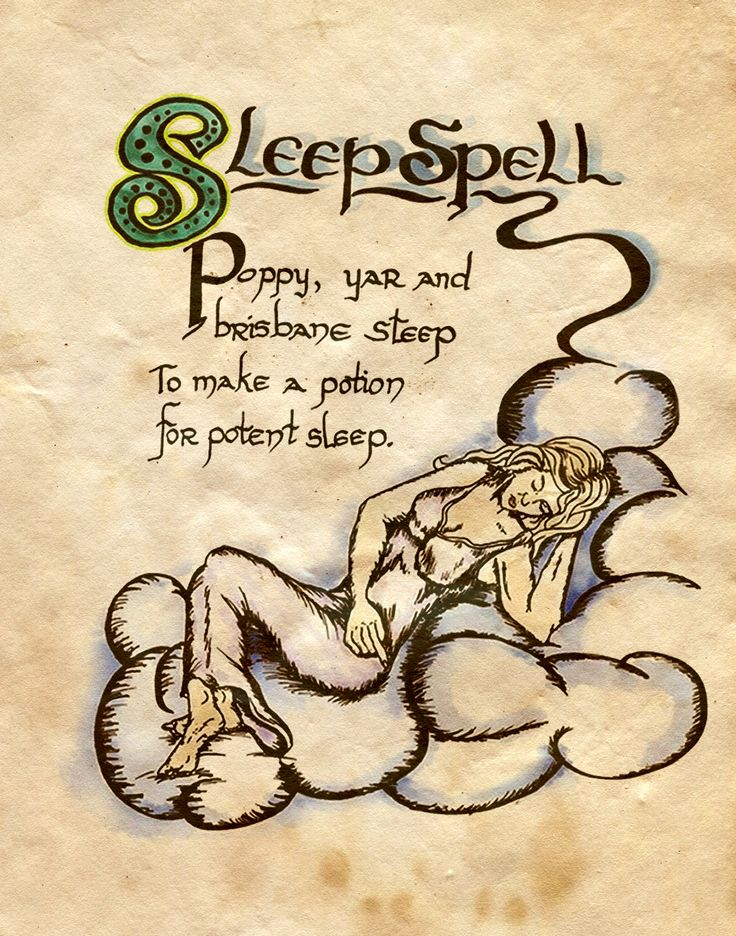 """Sleep Spell"" - Charmed - Book of Shadows"