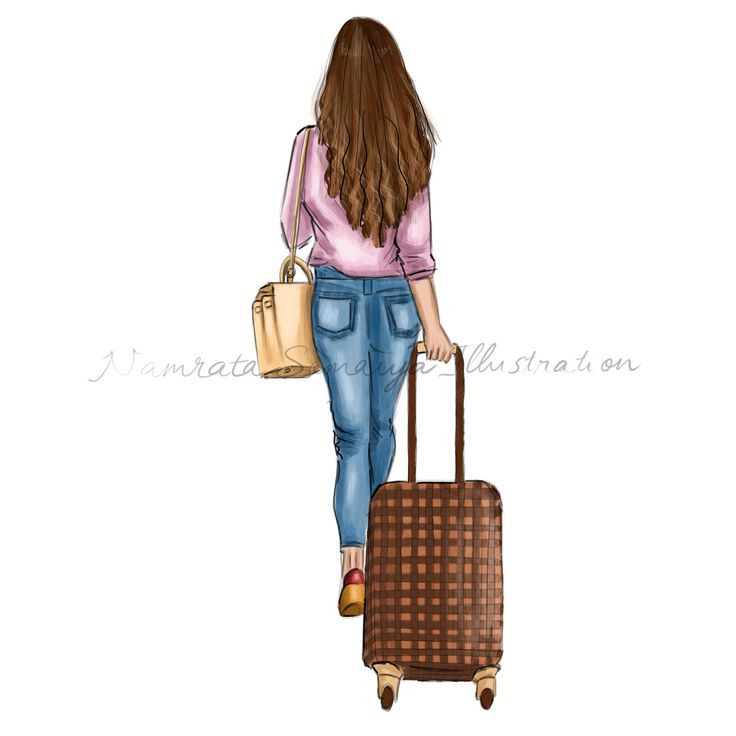 Excited to share the latest addition to my #etsy shop: Travelling in style.  (Fashion Illustration art print) Louis Vitton luggage bags #art #drawing #collectibles #prints #artprint #illustration #fashionillustration #fashiongirl #digitalart