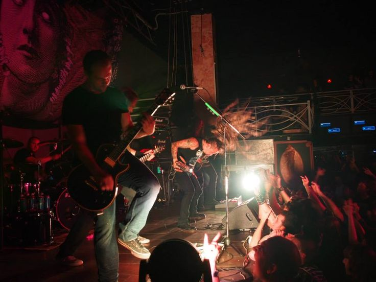 Stavropol 23.09.2013 Fotografía extraída del Facebook Oficial de #Amorphis.