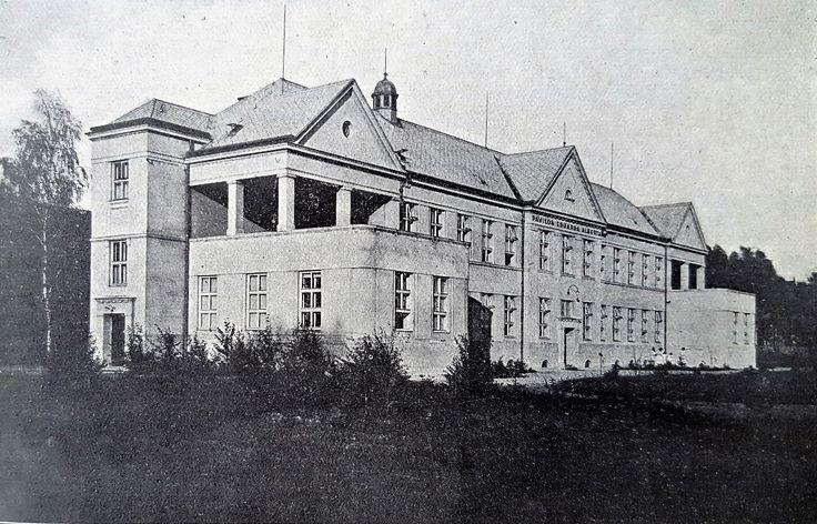 Prostějov General Public Hospital - New Surgery & Maternity Pavilion, 1928. Source: Československá nemocnice (Czechoslovak Hospital Journal)