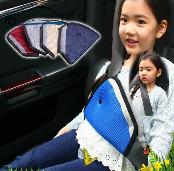Triángulo Cinturón de Seguridad Del Coche Ajustar Para El Niño, bebé, niños Protector de Cinturón de Seguridad del Ajustador, Cubierta del Cinturón de seguridad, Arnés de La Correa de hombro