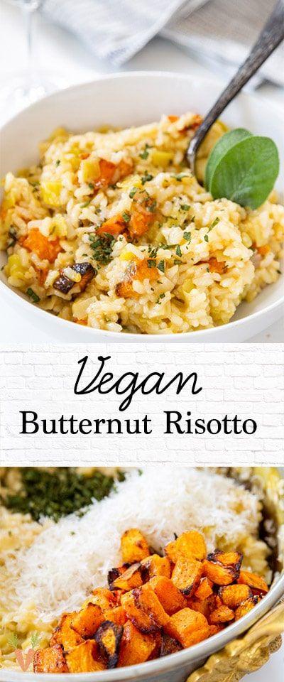 Vegan roasted butternut squash risotto – Probo