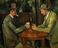 Draw a line the middle and find the differences.  Art from Cezanne: Card