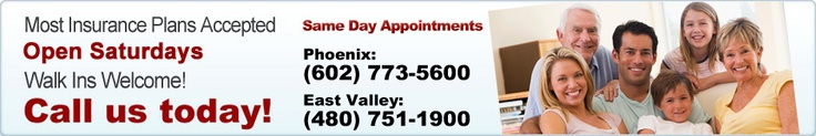 Phoenix Family Medical Clinic is an East Valley walk in clinic and urgent care center that offers family medical care from our professional medical doctors and physicians.