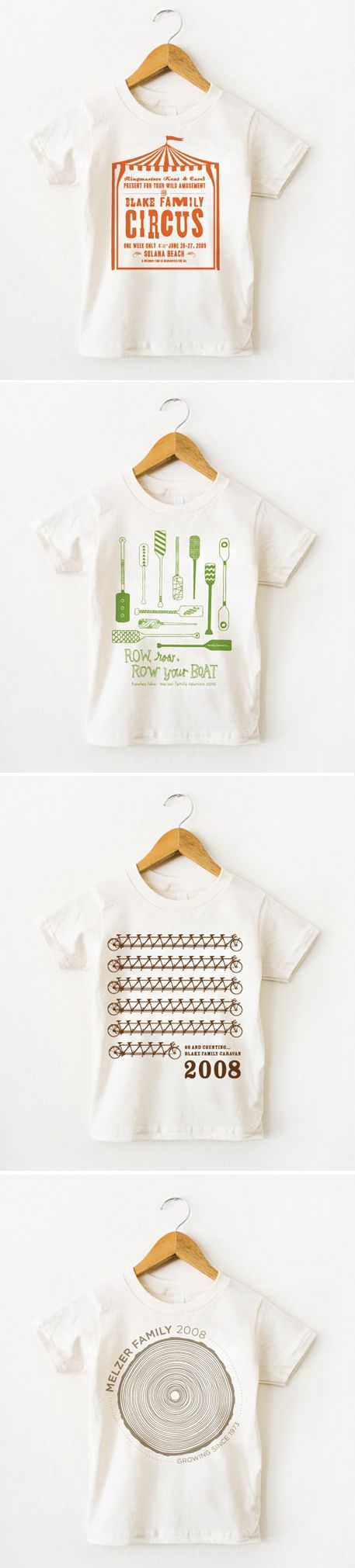 Cute family reunion t-shirt ideas... I know.  Lame.  But if ya have to be lame, why not do it in style?!