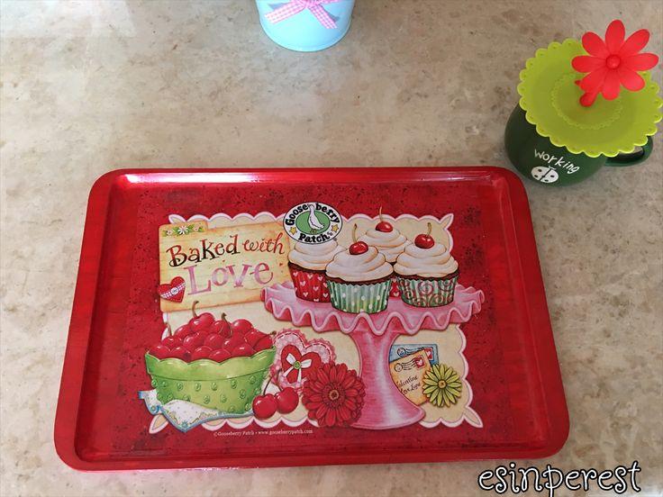 tepsi, tepsi boyama, melamin tepsi boyama, tray, tray painting, melamine tray painting