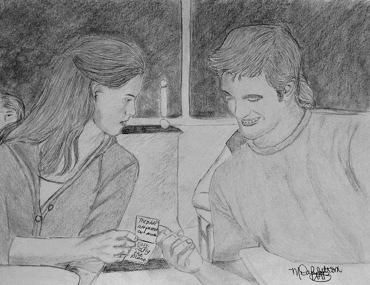 Lost Twilight Scene #9 - Passing Notes by UtterlyAbsurdBella.deviantart.com on @DeviantArt