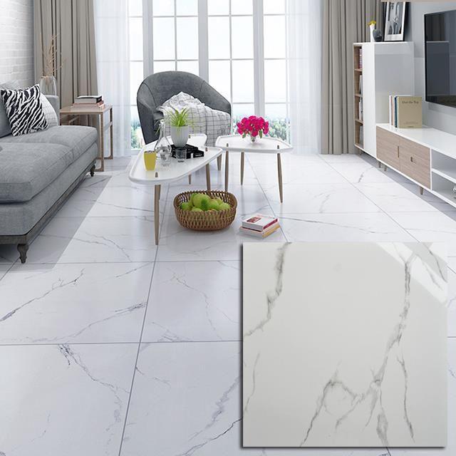 Pin By Zdenka Jancekova On Podlaha In 2021 Tile Floor Living Room Living Room Tiles White Tile Floor