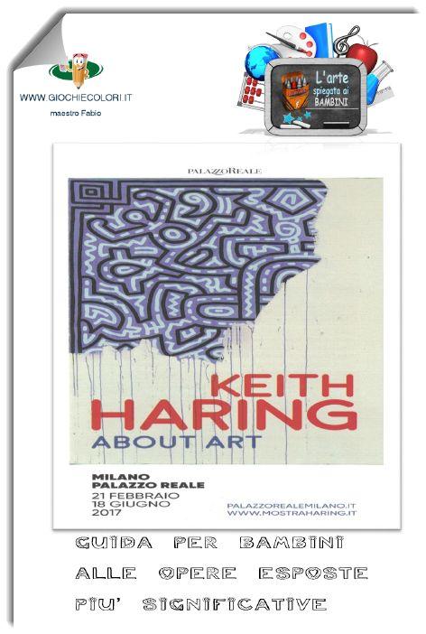 """""""Keith Haring - About Art"""" è il titolo della più grande mostra mai realizzata sino ad ora, per celebrare l'arte di Keith Haring. Potrete visitarla al Palazzo Reale di Milano. Questo libretto che illustra le opere più significative presenti, le tematiche e gli stili. Può essere utile per comprendere meglio le opere di questo artista. Il libretto è pensato per i bambini ma è fruibile da tutti. All'interno anche alcuni quiz per organizzare una sorta di """"Caccia al tesoro"""" fra le opere."""