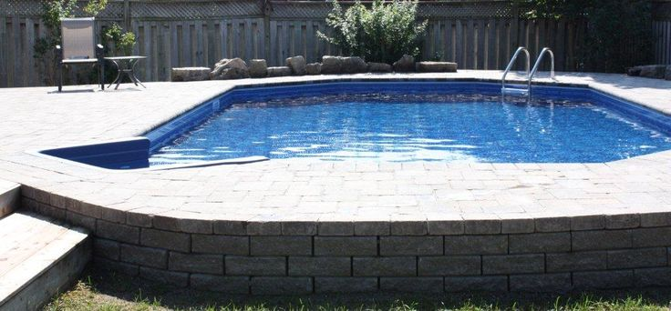 Swimming Pools With Retaining Walls Pool Installations Reduce The Need For Expensive